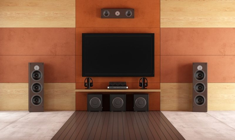home theater, Soundproofing