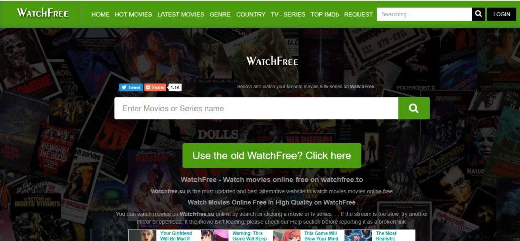 moviesjoy alternative WatchFree