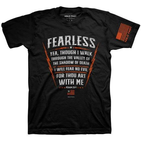 Psalm 23:4 Fearless