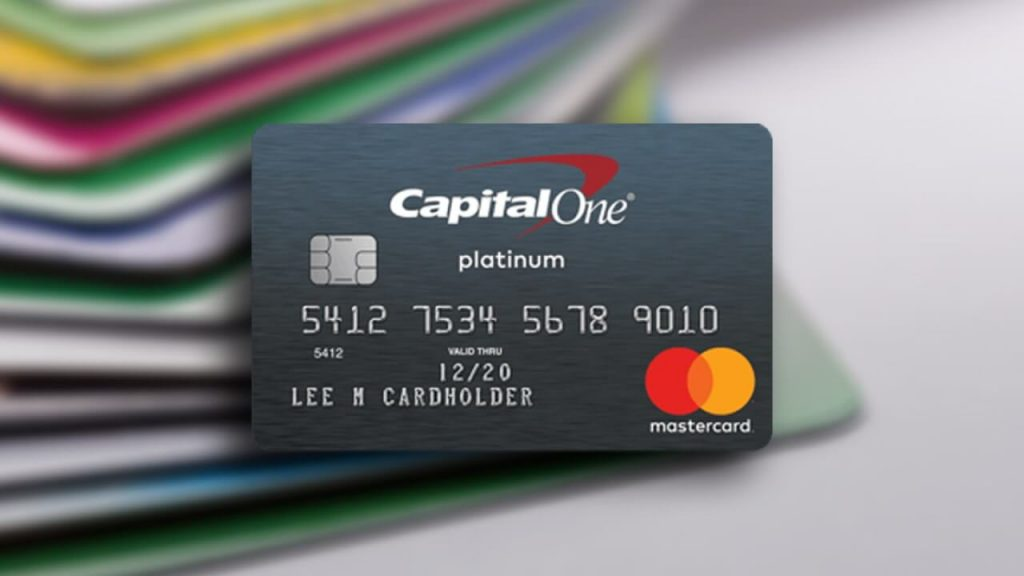 Platinum Capital One Credit Card