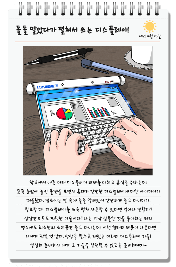 samsung Rollable Tablet