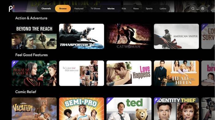 Peacock movies, free streaming movie sites