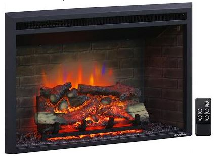 PuraFlame Klaus electric fireplace insert