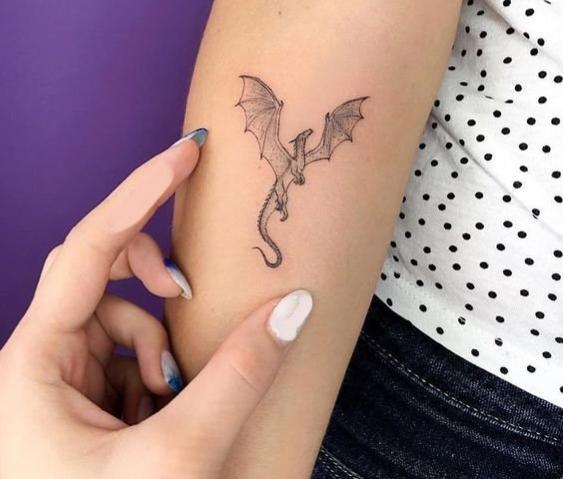 Little Dragon Tattoo